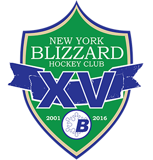 New York Blizzard Hockey Club, 15th Anniversary, version two