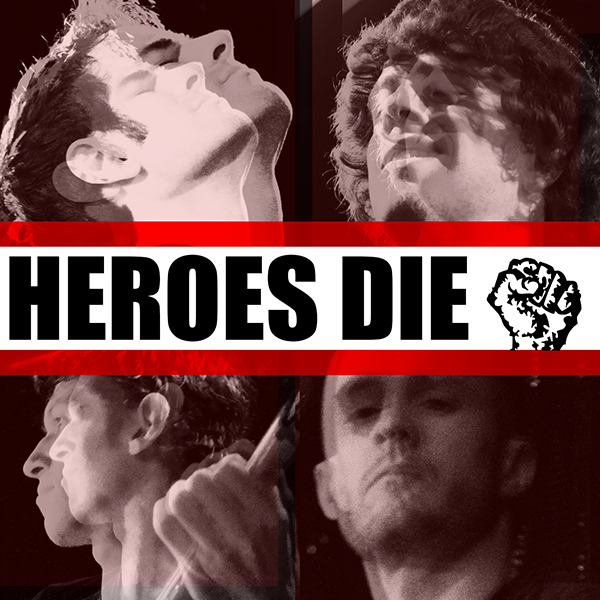 Promotional Art for Heroes Die