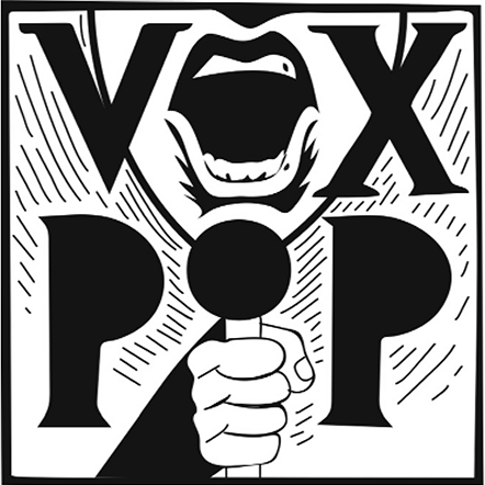 Vox Pop logo, from Sander Hicks website
